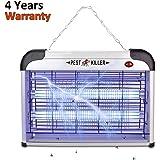 Electric Bug Zapper/Pest Repeller Control-Strongest Indoor 2800 Volt UV Lamp Flying Fly Insect Killer Mosquitoes Flies Killer Repellent Traps Eliminator Catcher Lure Zap Kills Mosquito