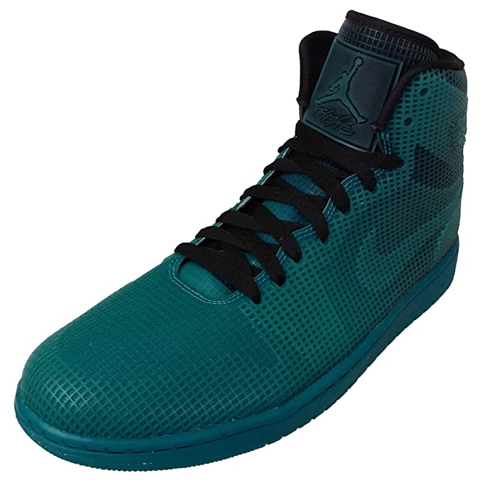 save off 0b947 93b90 Amazon.com  Nike Air Jordan 4LAB1 Elements Series 677690-020 Black Tropical  Teal Men s Shoes (Size 8.5)  Sports   Outdoors