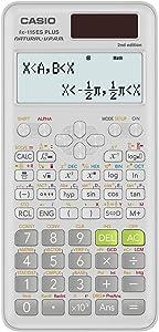 Casio fx-115ESPLS2 White Advanced Scientific Calculator with Natural Display