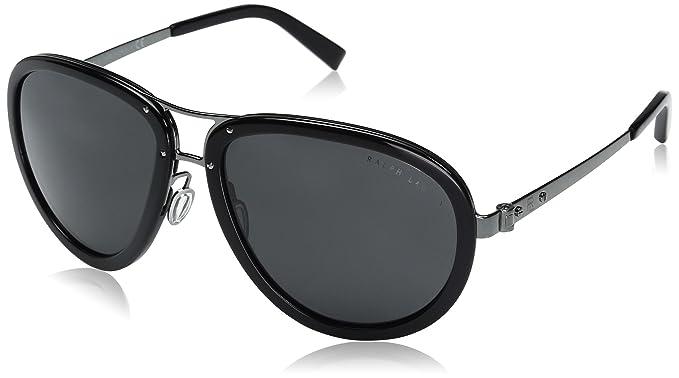 Ralph Lauren 0Rl7053, Gafas de sol Unisex, Dark Gunmetal 59