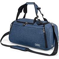 Cysili - Bolsa de viaje con bolsa de deporte y mochila, equipaje de mano con compartimento para zapatos, compartimento…