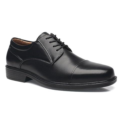81d5ce5e5838e La Milano Wide Width Mens Oxford Shoes Men's Dress Shoes EEE Extra Wide