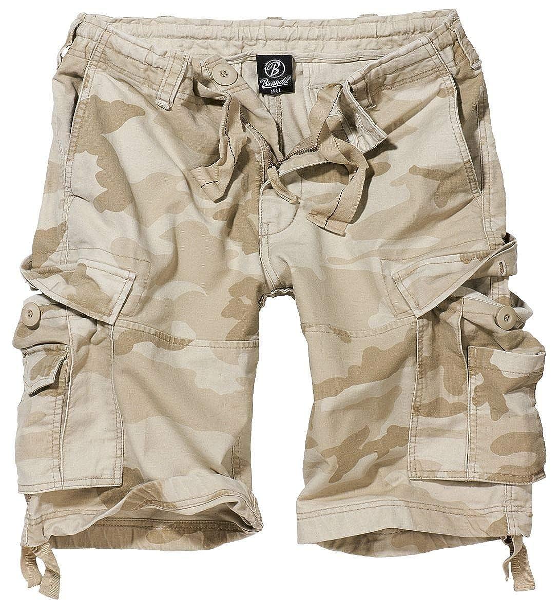 Brandit Vintage Shorts Pantaloncini Vintage nero 2002