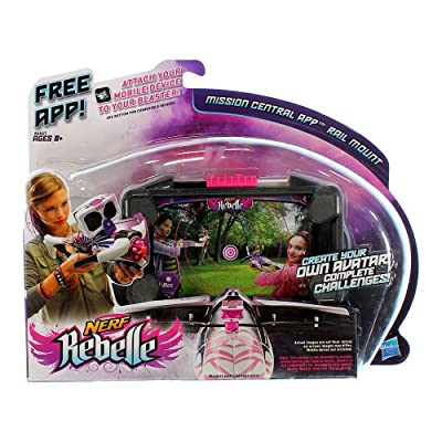Hasbro A6641 Nerf Rebelle Mission Central App Rail: Toys & Games