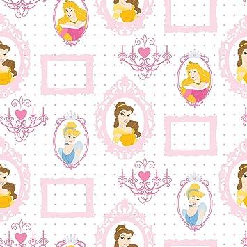 Disney Princess Royal Frames Wallpaper 10M - - Amazon.com