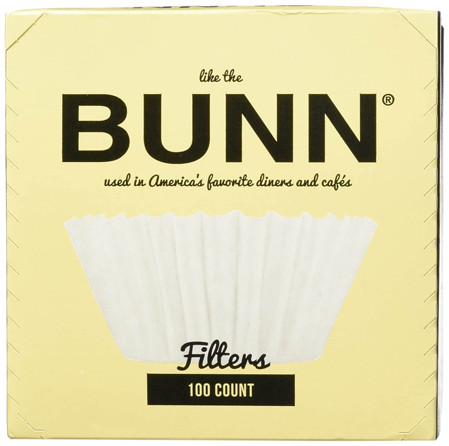 BUNN BCF100-B 100-Count Basket Filter (6 Pack)