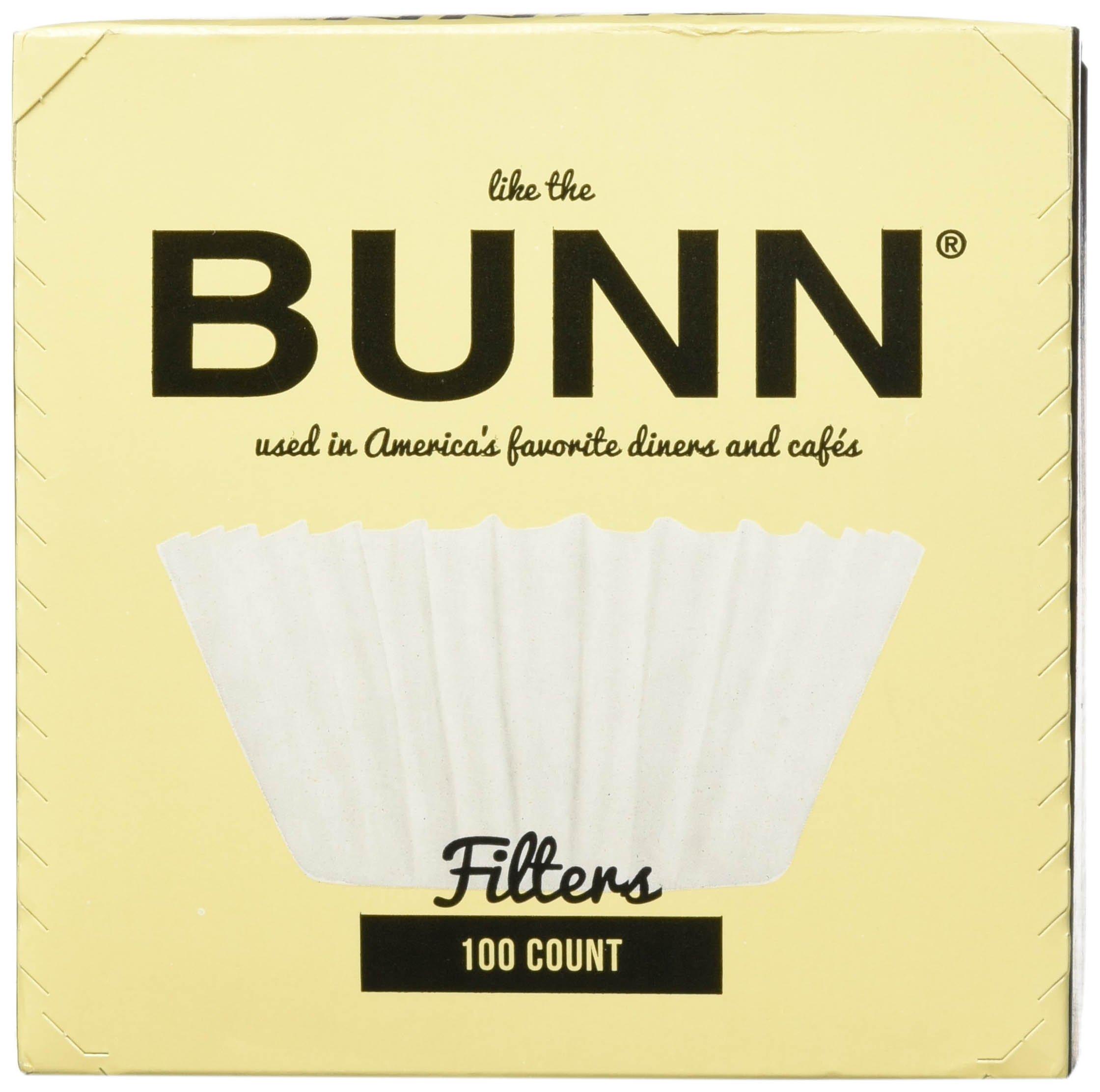 BUNN BCF100-B 100-Count Basket Filter (6 Pack) by BUNN