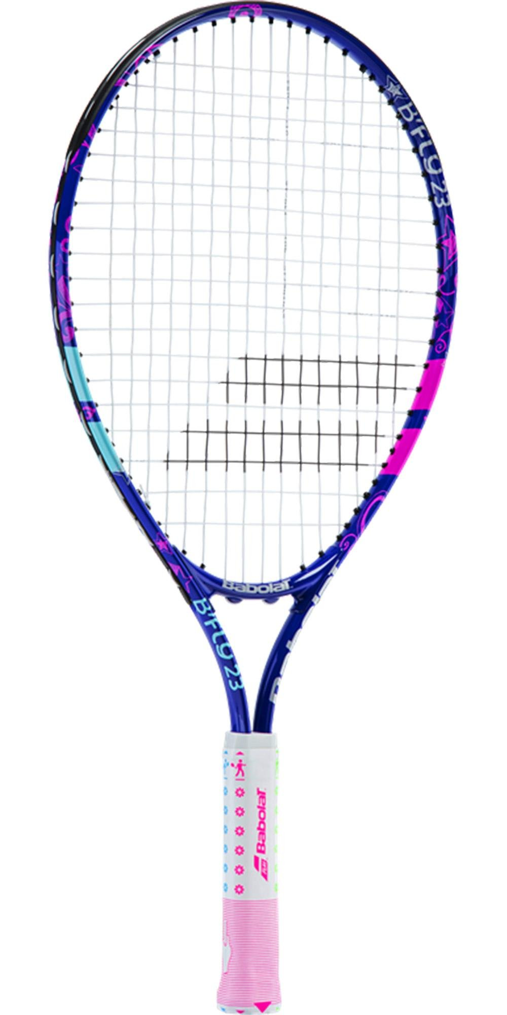 Babolat B'Fly 21'' Inch Child's Tennis Racquet/Racket Kit or Set Bundled with a Purple Junior Tennis Backpack (Best Back to School Gift for Boys and Girls) by Babolat (Image #3)
