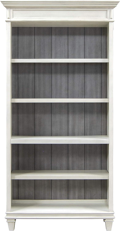 Martin Furniture IMHW4078W Open Bookcase, White