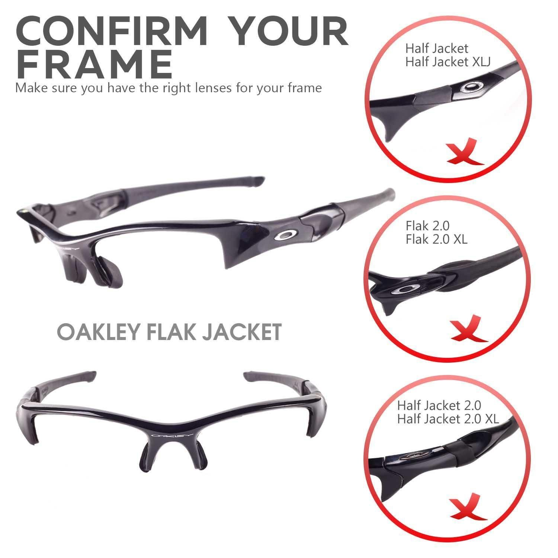 sunglasses restorer Lentes de Recambio Fotocromáticas para Oakley ...