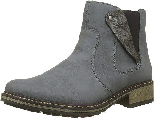 Rieker Damen Boot blau Z6885 14