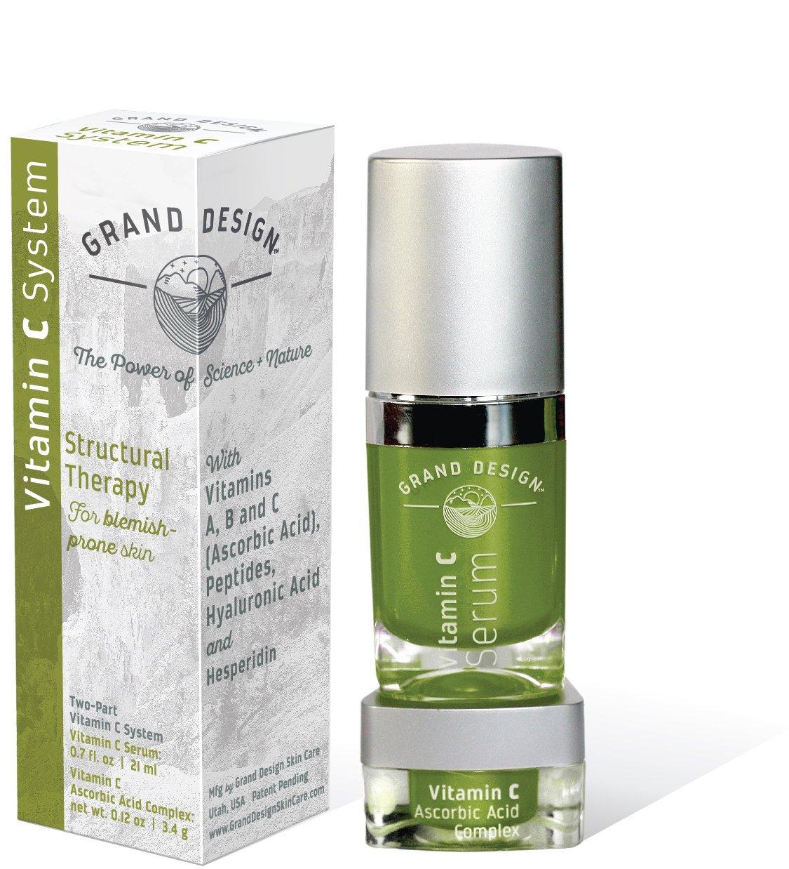 Scar Retreat Cream Serum.Grand Design Natural Face Creams And Serums Vitamin C Natural Acne Cream