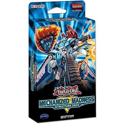 Yu-Gi-Oh! TCG: Mechanized Madness Structure Deck: Toys & Games