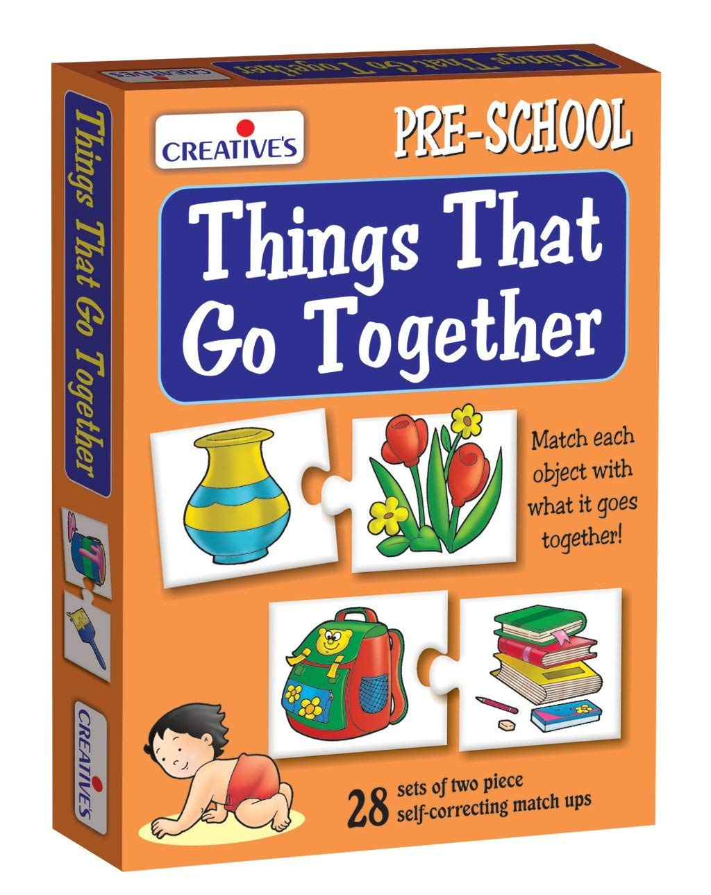 Creative's Things That Go Together Puzzle (Multi-Color, 56 Pieces) product image