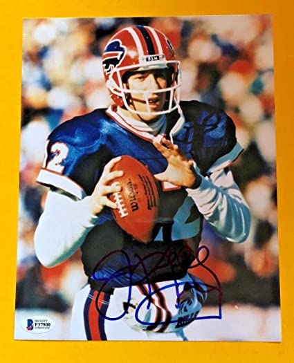 a3e9184b3e8 Jim Kelly Autographed Signed Buffalo Bills 8x10 Photo Beckett Certified at  Amazon s Sports Collectibles Store