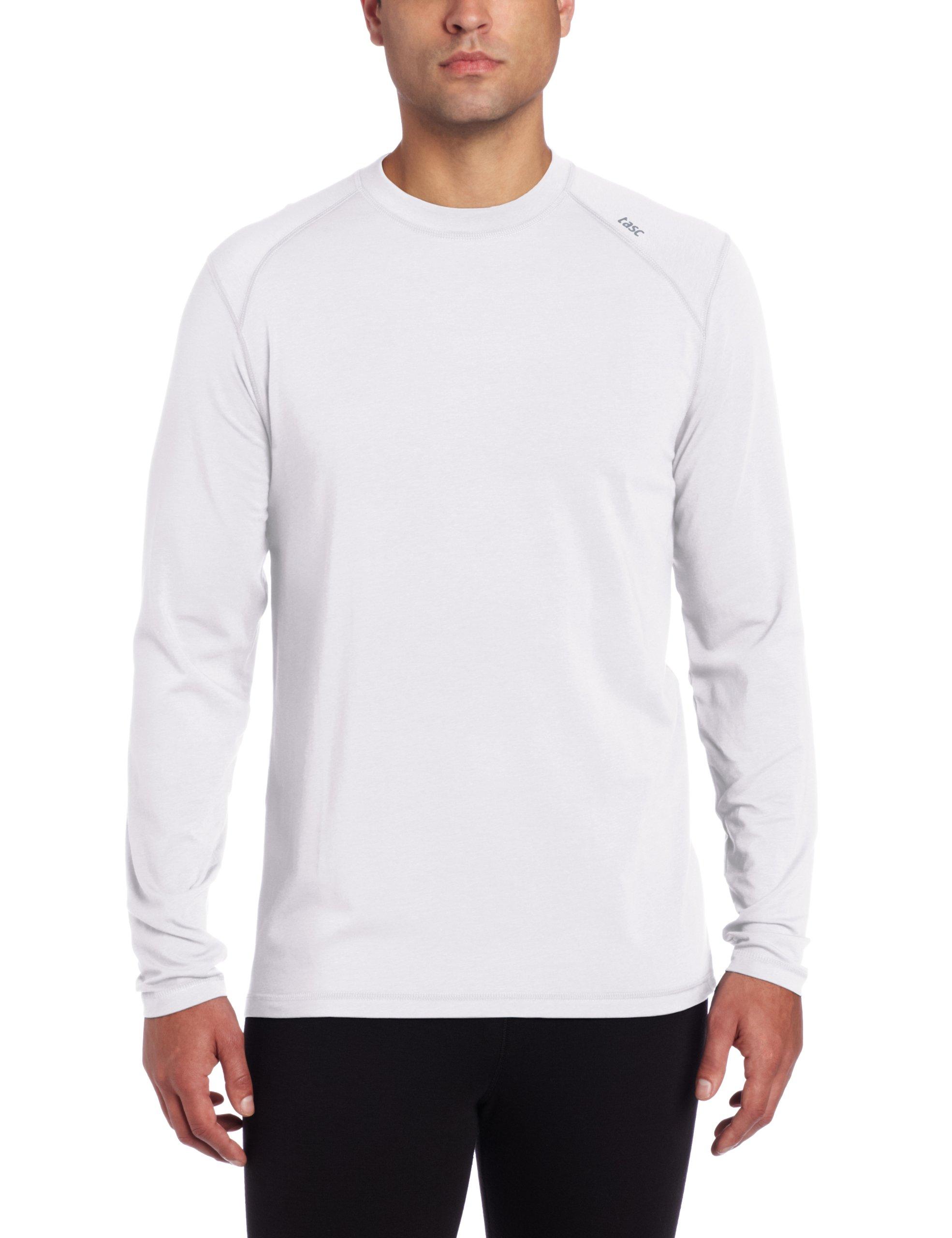 tasc Performance Carrollton Long Sleeve T-Shirt, White, X-Large