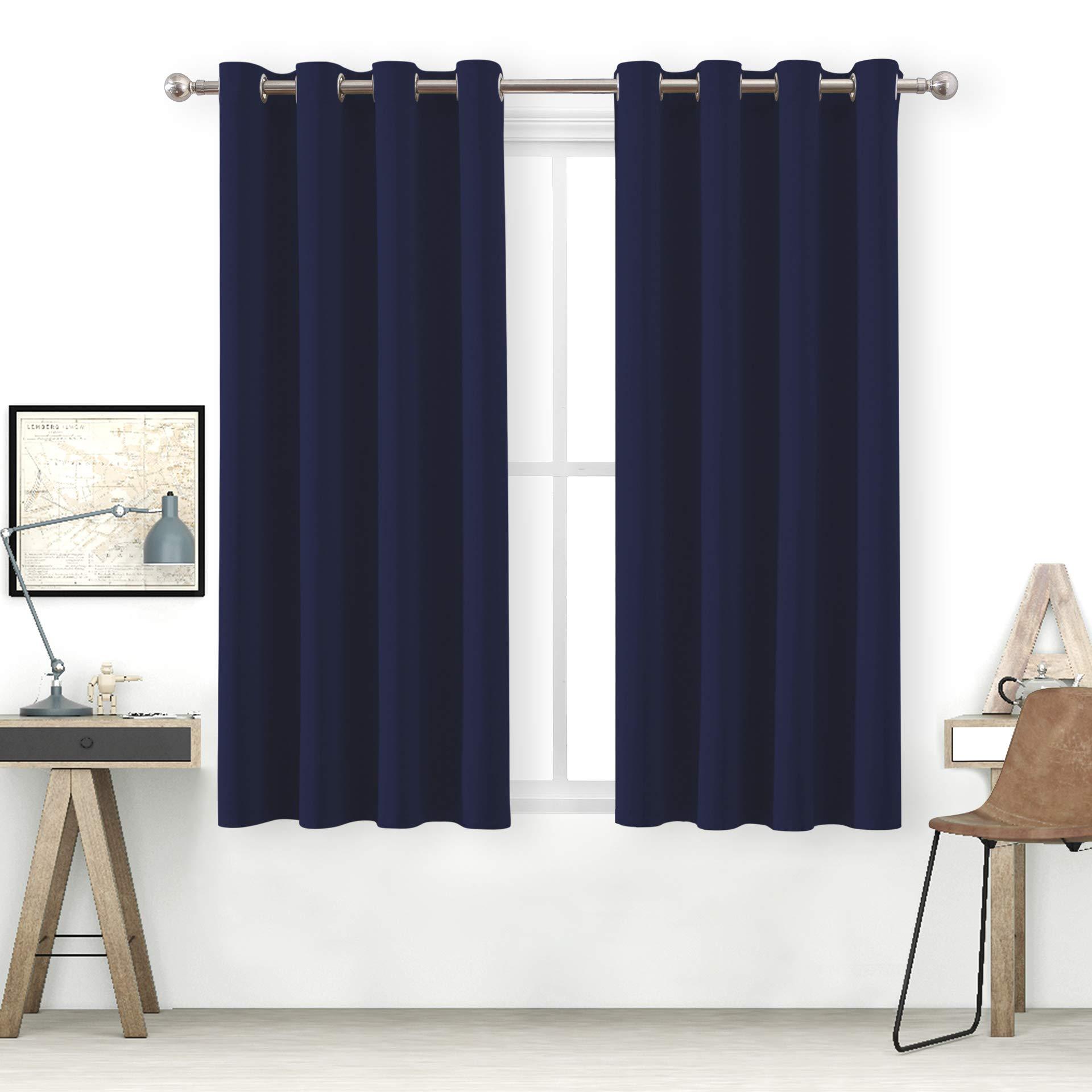 bluCOASTLINE Blackout Curtains for Bedroom Premium