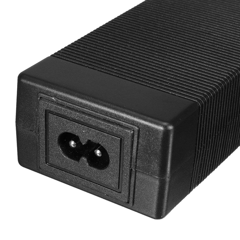 TOOGOO Adaptador de Cargador de Bater/ía para Xiaomi Mijia M365 El/éctrico Scooter Patineta Plegable UE Enchufe