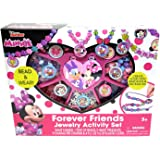 Minnie Mouse Disney Junior Forever Friends Jewelry Box Kit Activity Play Set Gift