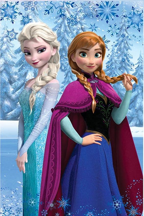 14 opinioni per Frozen Disney- Coperta Plaid in Pile 100x150 cm- Bambina- 100% Poliestere-