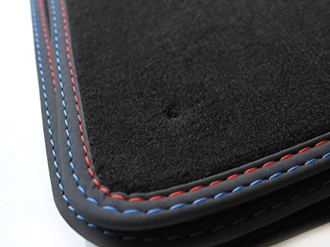 Fußmatten BMW E60 E61 5er Original Qualität Autoteppich M5 Tuning bestickt NEU