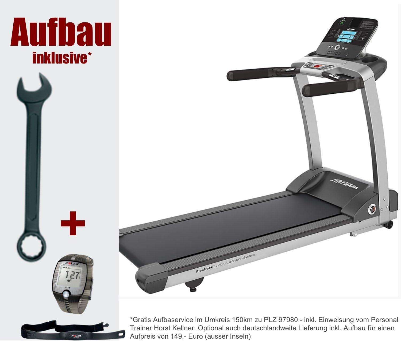 Life fitness T3 Track cinta de correr incluye, pulsómetro polar y ...