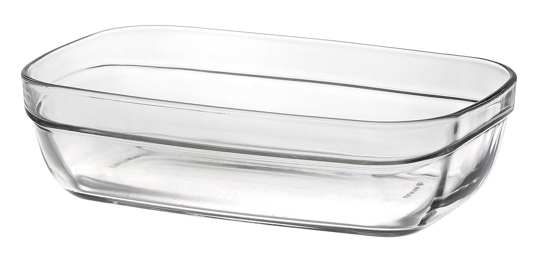 Duralex 5003AF06 - Fuente de Cristal Transparente, 15 cm: Amazon ...