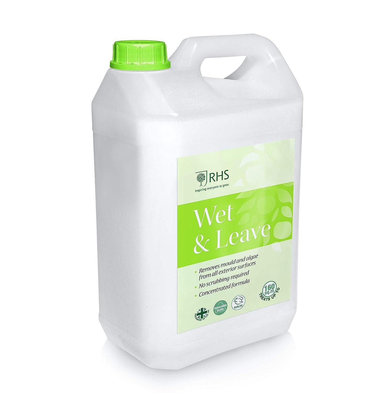 RHS 5L Wet & Leave concentrato alghe e Stampo Remover   Tratta Fino a 160 sqm