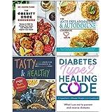 The Obesity Code Cookbook, The Anti-Inflammatory & Autoimmune Cookbook, Tasty & Healthy F*ck That's Delicious, Diabetes Type