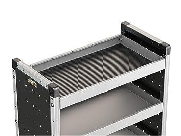 van guard pre cut rubber shelf matting for 750mm trade van racking rh amazon co uk pre cut corner shelves pre cut wood shelves