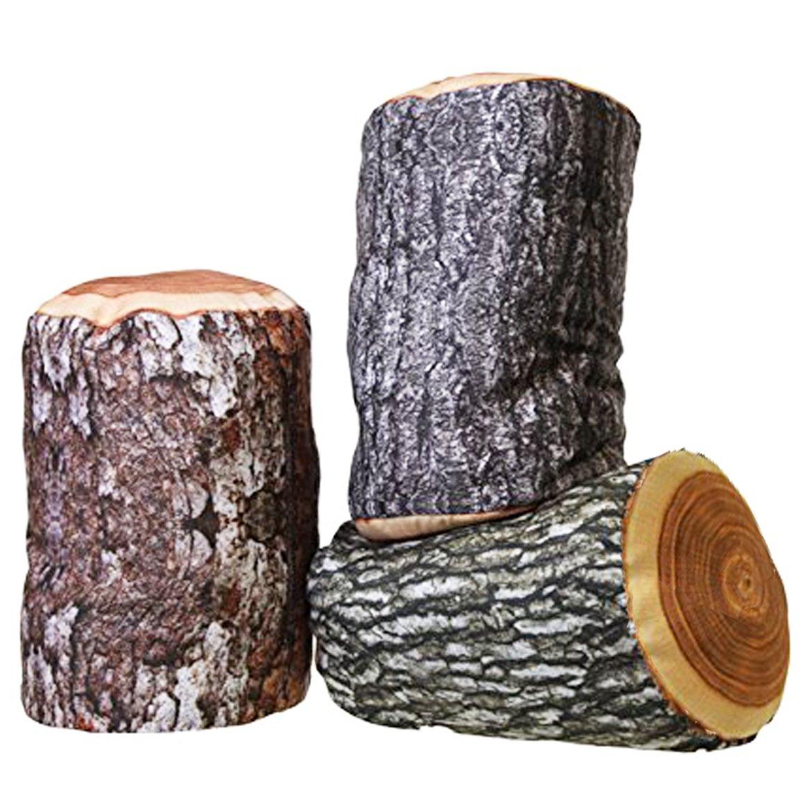 Cojín cortavientos con diseño de tronco, naturaleza ...