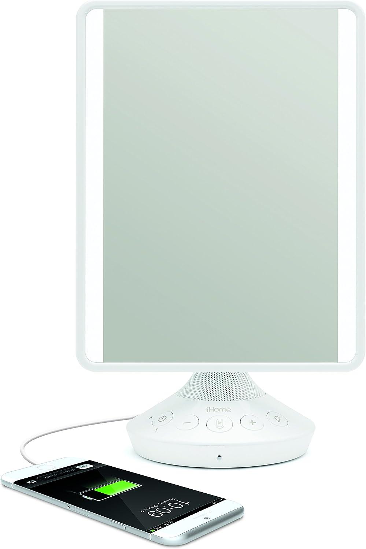 iHome Reflect iCVBT2 Adjustable Vanity Mirror