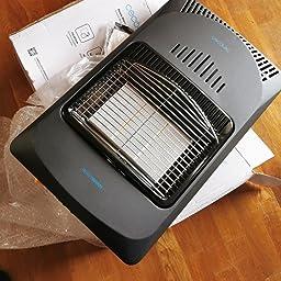 Cecotec Ready Warm 4000 Slim Fold - Estufa Plegable, Cerámica, 3 Modos, Bombonas de 10 Kg, Triple Sistema de Seguridad, 4 Ruedas multidireccionales, 4200 W: Amazon.es: Hogar