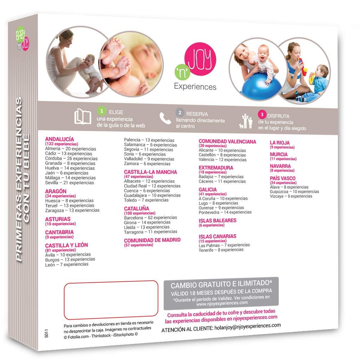 Babynjoy - Pack experiencia bienestar primeras experiencias con tu bebé : Amazon.es: Bebé