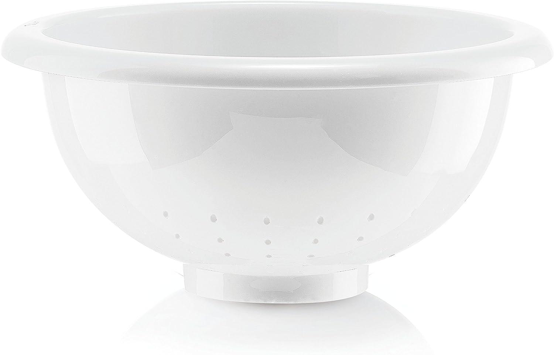 Guzzini Forme Casa 278050-11 Nudelsieb Wei/ß Durchmesser: 28 cm aus Kunststoff