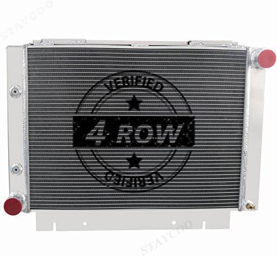 KKS6063 New 3 Rows All Aluminum Radiator Fit 1960-1963 Ford Galaxie 500