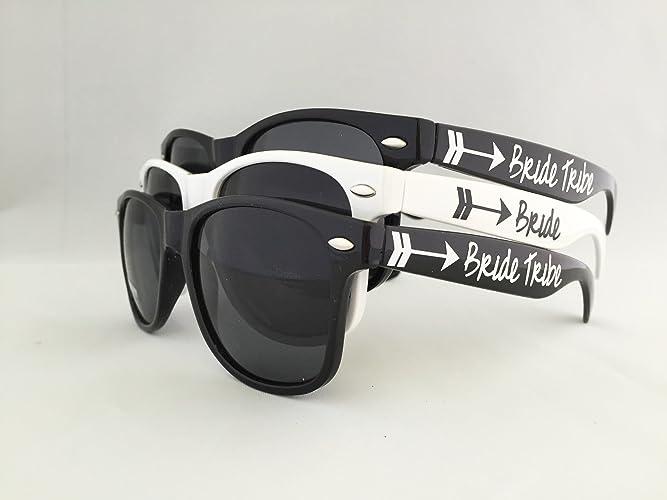 Amazon.com: Bride Tribe Bachelorette Party Wedding Sunglasses Gift ...