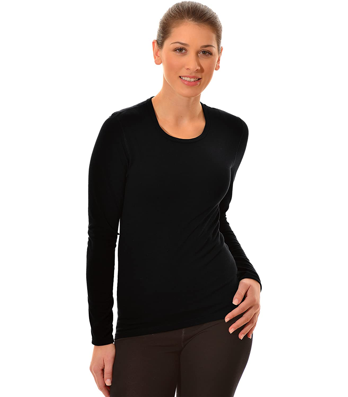 Trigema Damen Sport T-Shirt Trigema Damen Langarm Ski/sport Shirt