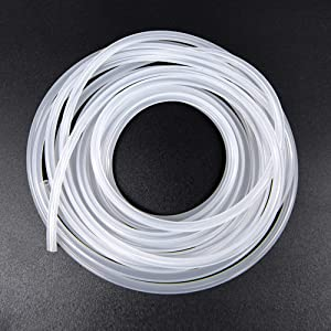 Feelers 10mm ID x 16mm OD High-Strength Silicone Tubing Thick Food Grade High Temp Pure Silicon Tube High Temp Home Brewing Winemaking Silicone Hose Tubing, 3.28ft Length