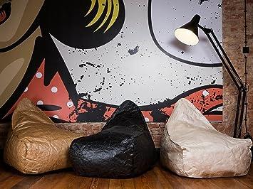 Beliani Sitzsack schwarz DROP: Beliani: Amazon.de: Küche & Haushalt
