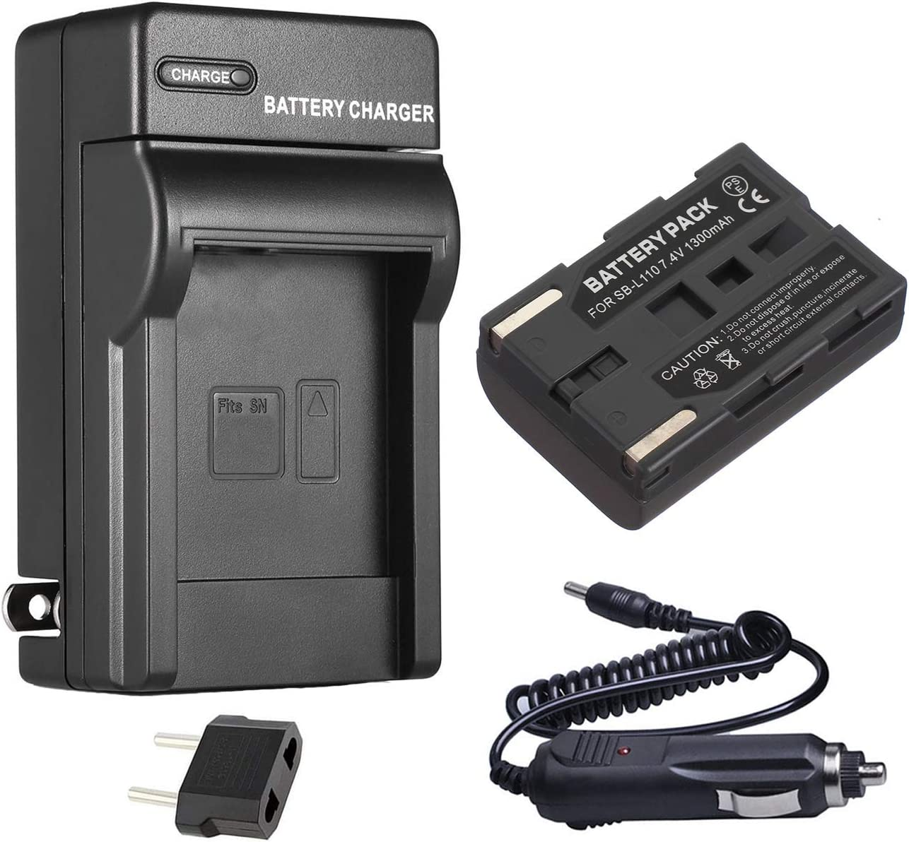 SC-D105 SC-D107 SC-D180 Digital Video Camcorder Battery Pack for Samsung SC-D101 SC-D103