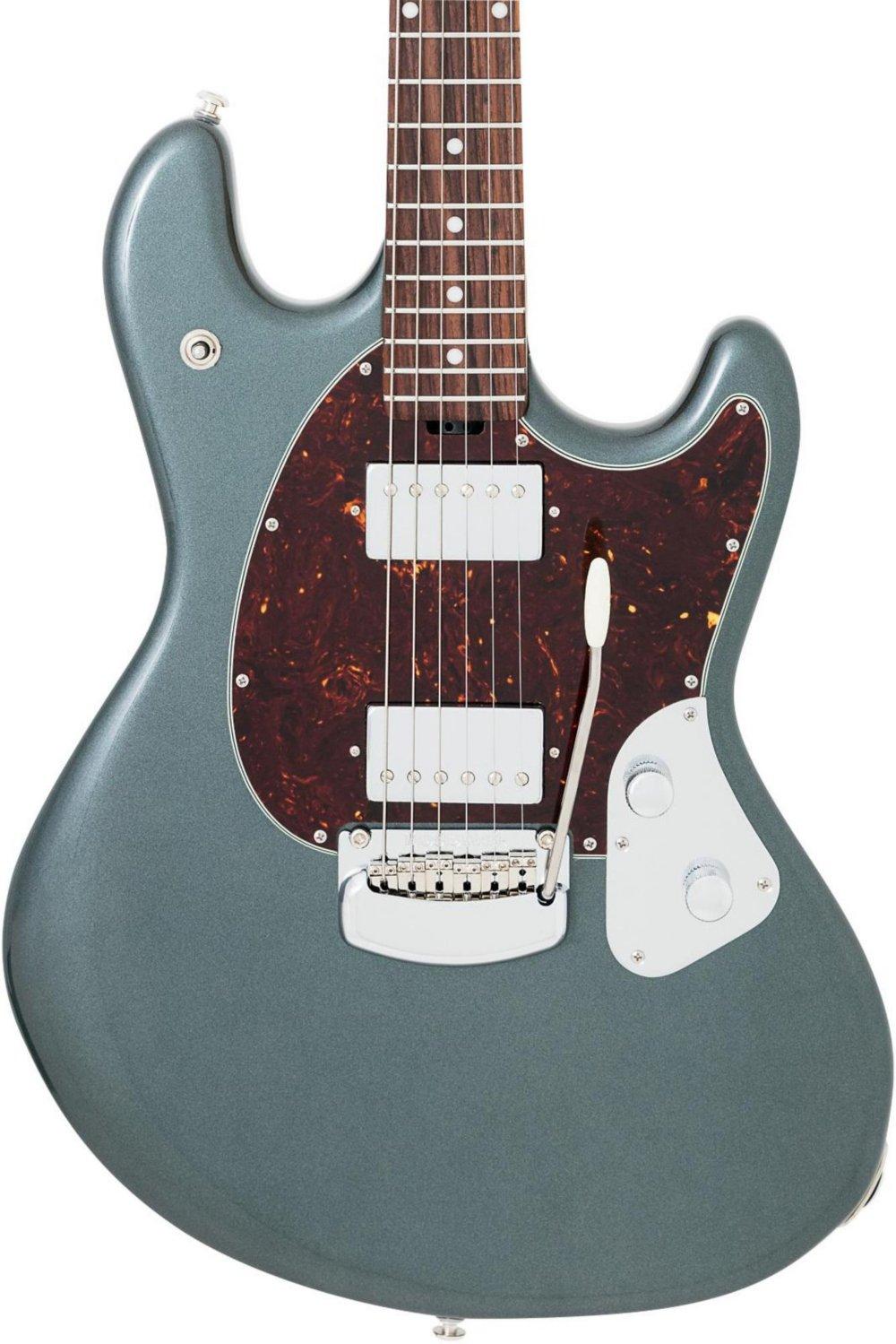 Ernie Ball Music Man StingRay Guitar - Charcoal Frost