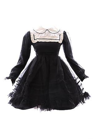 Kawaii-Story JL de 565 – 3 Negro Black Gothic Lolita Japón Vestido Disfraz Dress