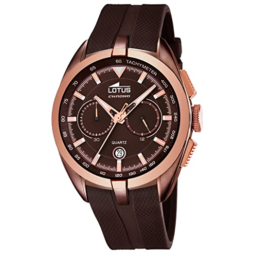 0c1a00f00e24 Lotus mens watch Smart Casual chronograph 18191/1: Amazon.co.uk: Watches