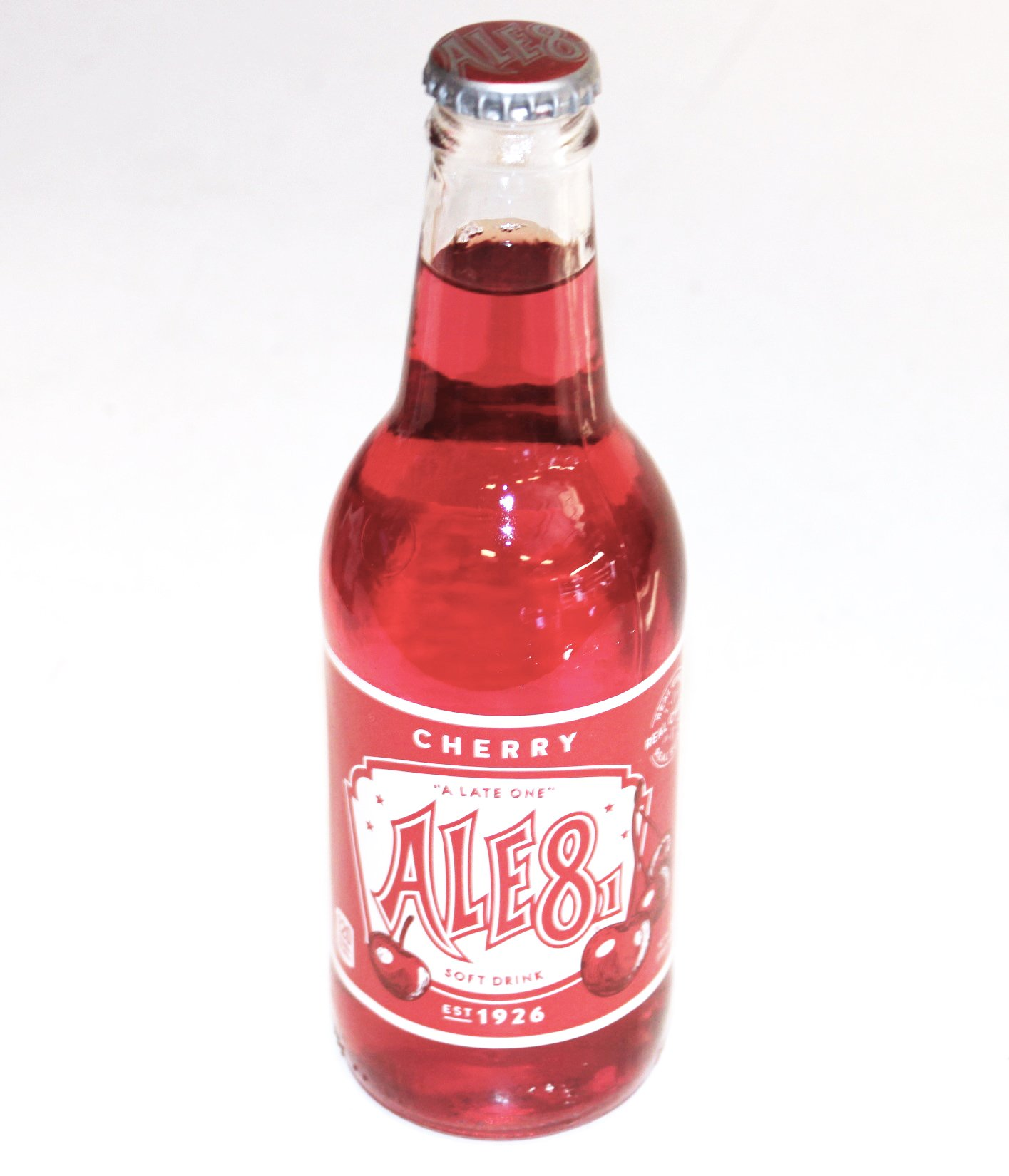 Ale 8 One Special Edition Cherry, 12 ounces (1 Glass Bottle)
