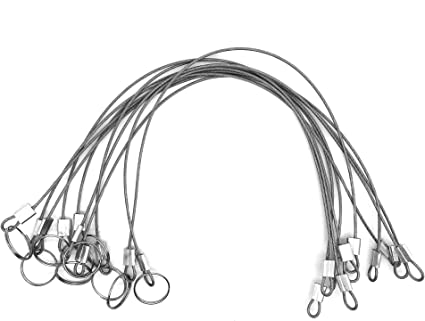 Boat Safety Chain for Loss Prevention with Quick Release Ring 10 PCS Stainless Steel Marine Safety Cable