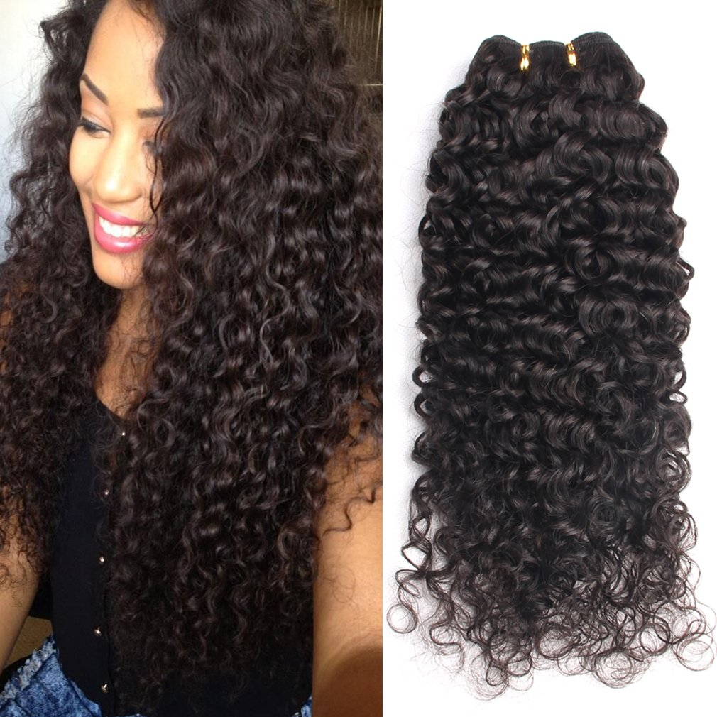 Best Hair Extensions Gem Beauty Brazilian Virgin Hair Deep Curly