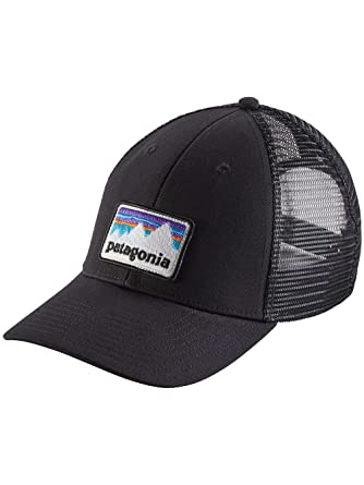 9532004a414 Patagonia Unisex Shop Sticker Patch LoPro Trucker Hat Black Size One Size  (21)  Amazon.ca  Sports   Outdoors