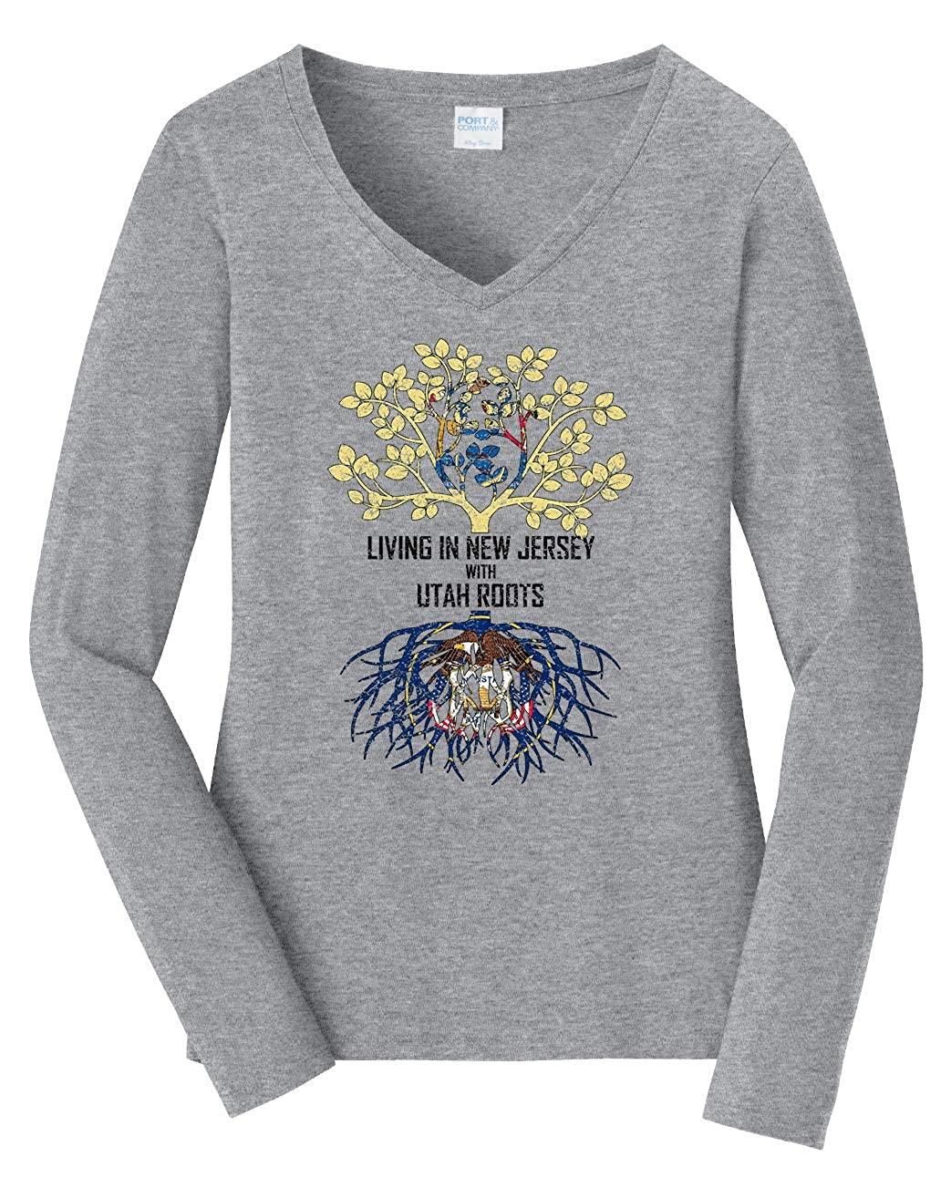 Tenacitee Babys Living in Jersey Utah Roots Shirt