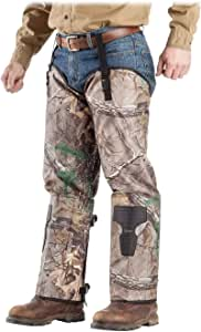 ForEverlast Snake Guard Chaps, Camouflage- Hunting Gear with Full Protection for Legs from Snake Bites & Briar Thorns & Brush